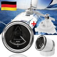 Ruderwinkelanzeige Ruderanzeiger Ruderanzeige Boots Ruderwinkel Anzeige + Sensor