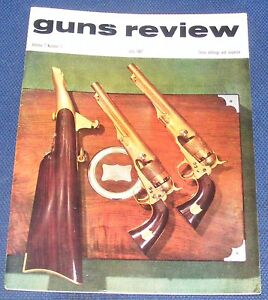 GUNS REVIEW MAGAZINE JULY 1967 - THE BERGMANN PISTOL - MODEL 1896