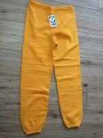 NWT Vintage Discus Heavyweight Sweatpants 90s Mens Medium Mustard Yellow