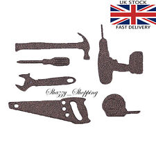 Tool set Saw Drill Hammer dad father metal cutting die cutter UK Fast posting
