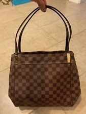 Louis Vuitton LV Damier Ebene Marylebone PM Tote Handbag Purse