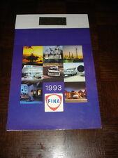CALENDRIER 1993 FINA - Machines agricoles Mestdagh-Fontenelle - Rocquigny Aisne