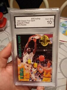 Shaquille O'Neal Rookie Card Graded GEM Mint 10 🔥
