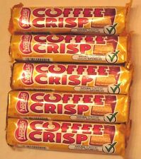 5 Coffee Crisp chocolate candy bar nestle canadian FRESH FROM CANADA