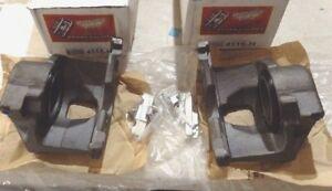 CAMBRO SEMI-LOADED FRONT/REAR BRAKE CALIPERS FOR GM DODGE IHC 1-TON TRUCKS 73-02