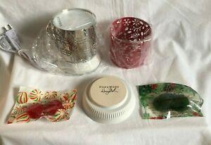 "HomeWorx by Harry Slatkin ""Holiday"" Fragrance Warmer 2 Sleeves Christmas Gelable"