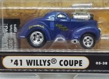 "Action Muscle Machines 41 Willys Coupe ""stone, woods, & cook"" Dragster 1/64"