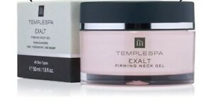 Temple Spa Exalt Neck Gel Cream Full Size In Box New Rrp £40
