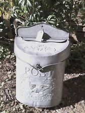 Briefkasten Metall Shabby Brocante Postkasten Retro Used Look Blech NEU