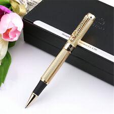Mysterious JINHAO 1200 Gold Mesh Roller Ball Pen  Medium nib