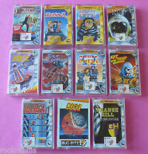 Amstrad CPC - COLLECTION of BUG-BYTE GAMES 464/664/6128