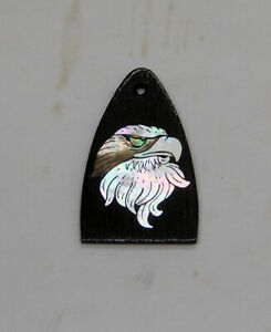 Truss Rod Cover with Eagle Head Inlay will fit PRS