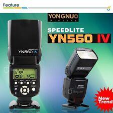 Yongnuo YN-560 IV Flash Speedlite Master + Slave Flash + Built-in Trigger System