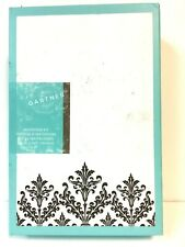 Black Damask Invitation Kit wedding invitations cards A2