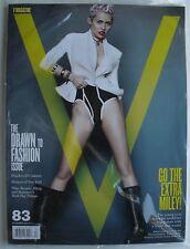 MILEY CYRUS Summer 2013 V Magazine #83  Sealed NEW!