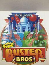Rare Vintage Super Buster Bros Capcom Sticker for Arcade