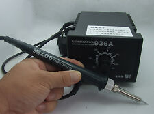 set AC 220V 936 SOLDERING STATION Heated IRON 60W 200℃-480℃ for 900M Series tips