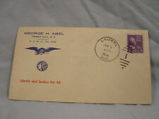 WW II  Envelope Cover  June 3, 1944   P. C. E. C. no. 278   Tribes Hill N. Y.