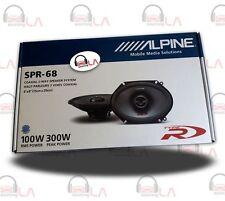 "Alpine SPR68 6x8"" 600W 2 Way Full Range Type R Car Audio Speakers"