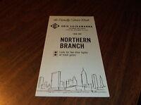 DECEMBER 1965 ERIE-LACKAWANNA RAILROAD FORM 9 NORTHERN BRANCH PUBLIC TIMETABLE