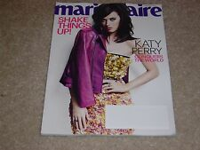 KATY PERRY CONQUERS THE WORLD January 2014 MARIE CLAIRE MAGAZINE