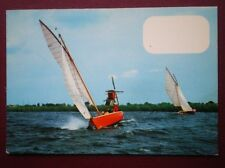 POSTCARD SAILING VESSELS YACHTS ON THE WATER (1)