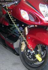 Motorcycle Rotor Disc Brake Wheel Lock Reminder