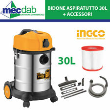 Sealey PC200SD aspirapolvere industriale Wet /& Dry 20ltr 1250W//230V Inossidabile DR