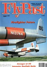 Flypast Magazine 1991 August Avenger,Firebombers,B-17,Sarafand,Airspeed Oxford