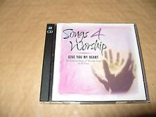Songs 4 Worship Give You My Heart 2 cd 2001 Time Life Ex + Condition