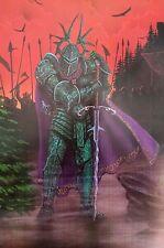 """""""Gothic Knight"""" by Redfish  FANTASY ART PRINT"""