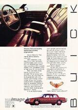 1985 Buick Electra Park Avenue Original Advertisement Print Art Car Ad J863