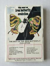 Iron Butterfly - The Best of Iron Butterfly-Evolution. Cassette Rare/Pre-Owned.