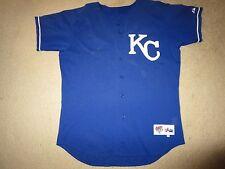 Kansas City Royals #56 MLB Game Worn Used Jersey 48