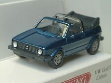 Wiking VW Golf I Cabrio, blau-met. - 0046 04 - 1:87