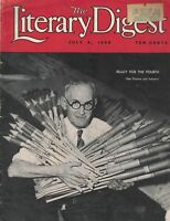 Literary Digest July 4 1936 Bottle Rockets Fireworks Cover Al Capone