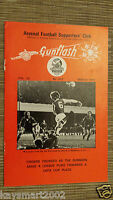 GUNFLASH - ARSENAL Football  Supporters Club Magazine Vol.32, No.312, MARCH 1981