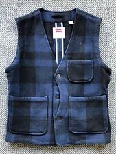 Levi's Vest, Slim Fit, Size Large, 78% Wool