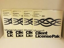 Microsoft Windows Client License Pak 351-00187 1 License Free Shipping Server NT