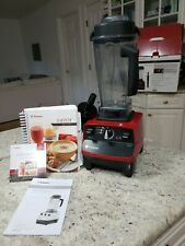 Vitamix 6300 Blender Red   Comes with Everything you can see in the listing. A++