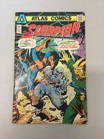 Scorpion 3 Atlas Comics 1975 Bronze Age Low Grade