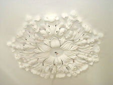 Cambridge multi section PLASTER CEILING ROSE listed building