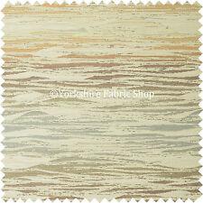 Colourful Sunset Thin Airbrush Stripe Stroke Pattern Chenille Upholstery Fabrics