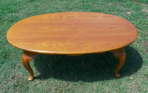 Oak Oval Coffee Table  (CT181)