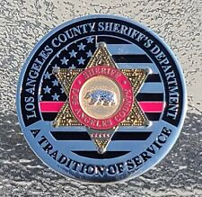 Los Angeles County Sheriff's 2020 Pink Challenge coin