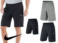Nike Men's Shorts CRUSADER Lt Fleece Shorts : Sports-Gym-Beach, Black-Grey-Blue