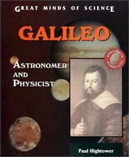 Galileo: Astronomer and Physicist (Great Minds of Science)-ExLibrary