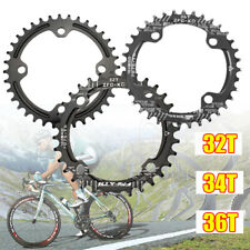 Bike Narrow Wide Round Chainring Ring BCD 104mm 32 34 36T Single Tooth Chain