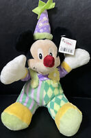 Disney Store Happy Birthday Mickey Mouse Plush 10""