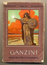 Ganzini catalogo semestrale n.58 Maggio 1915 L078
